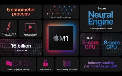 Cay Technology - Centre de Réparation Saint Quentin m1-puce-arm-macbook-400x250 Apple présente M1, la puce ultra puissante des premiers Macs ARM Non classé